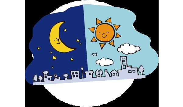 日照時間が睡眠に与える影響<